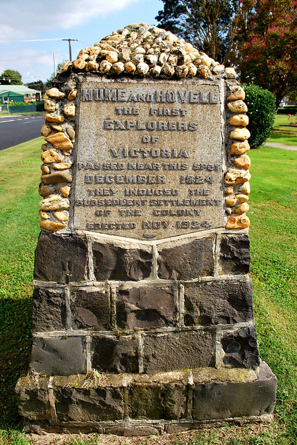 hume amp hovell monument yea vic australia flickr