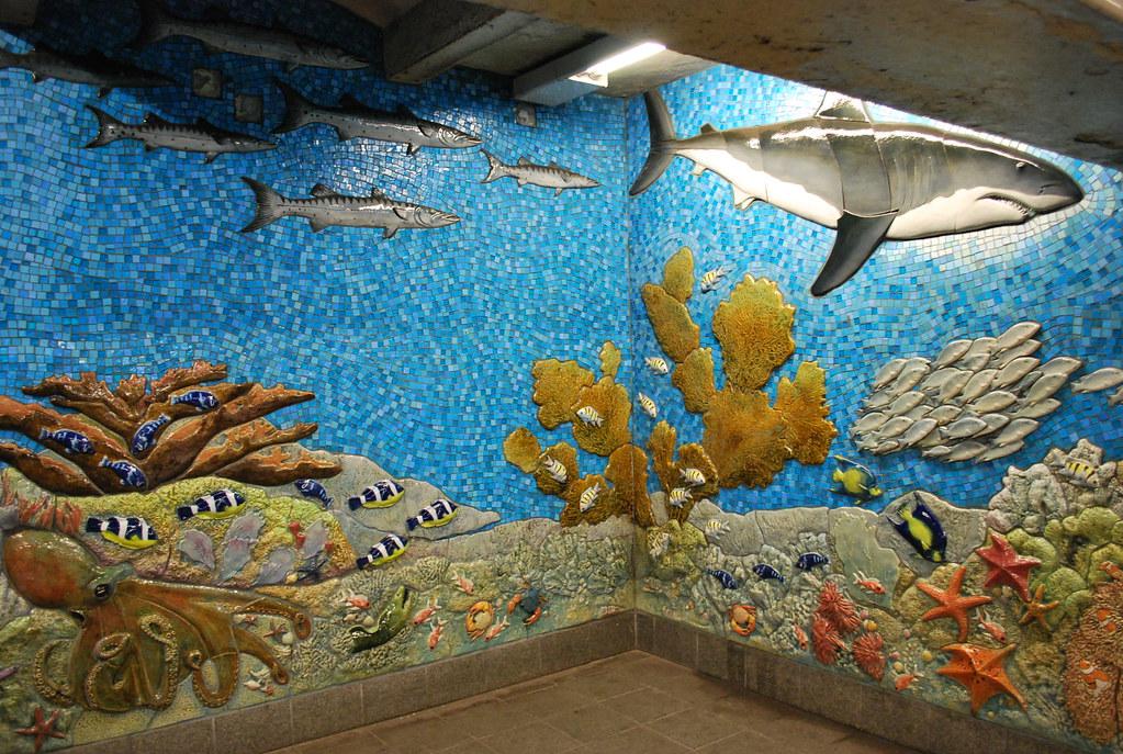 81st central park west mural kurt von d flickr for Central park mural