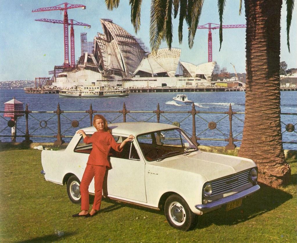Vauxhall Viva And Sydney Opera House