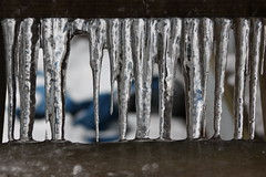 Icicles between the steps by supersaxtons