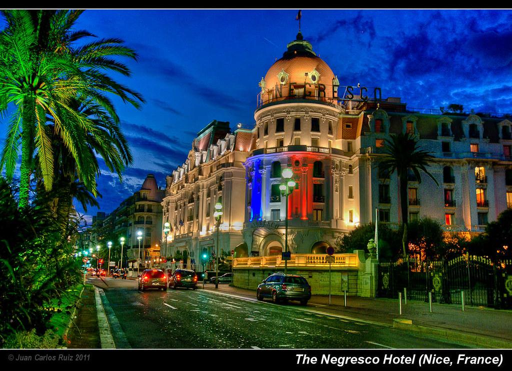 The Negresco Hotel  Nice  France