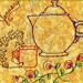 Fiestaware teapot and Hedgehog