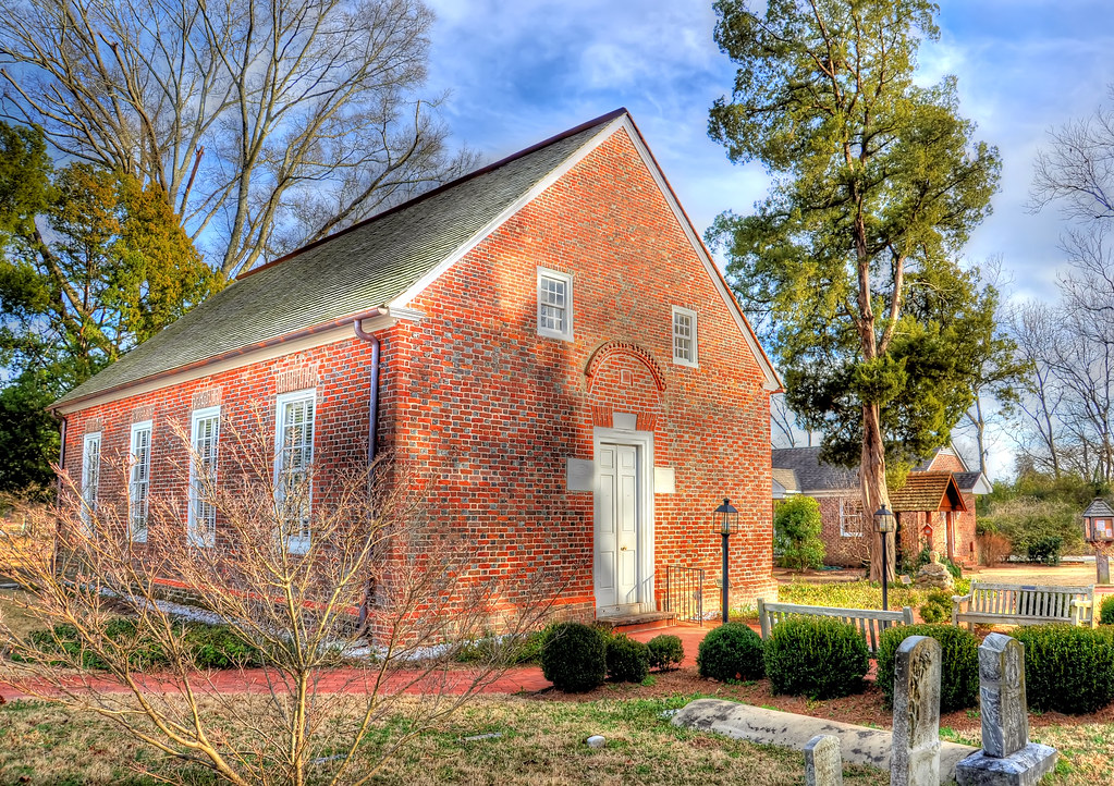 St Thomas Episcopal Church Built 1734 The St Thomas