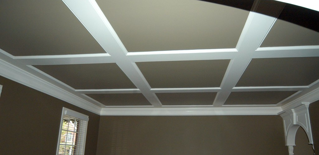 Low Profile Coffered Ceiling Gcdinc Flickr