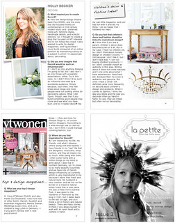 La Petite Magazine Feature | by decor8