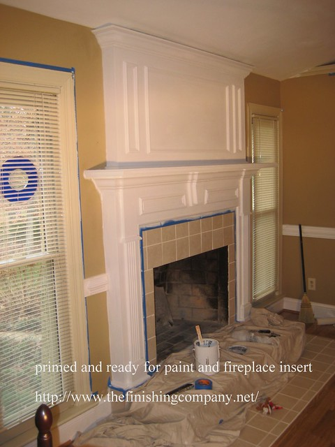 Brick Fireplace Makeover Before And After Flickr Photo Sharing