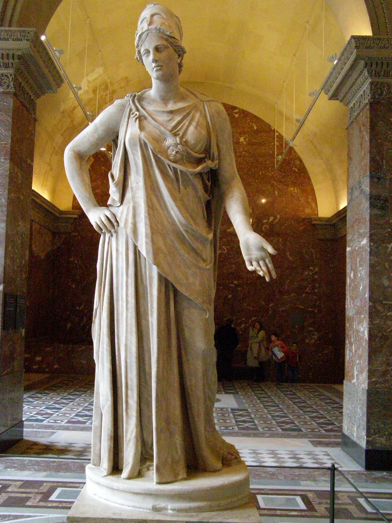 Athena Called The Peaceable Or The Mattei Athena Flickr