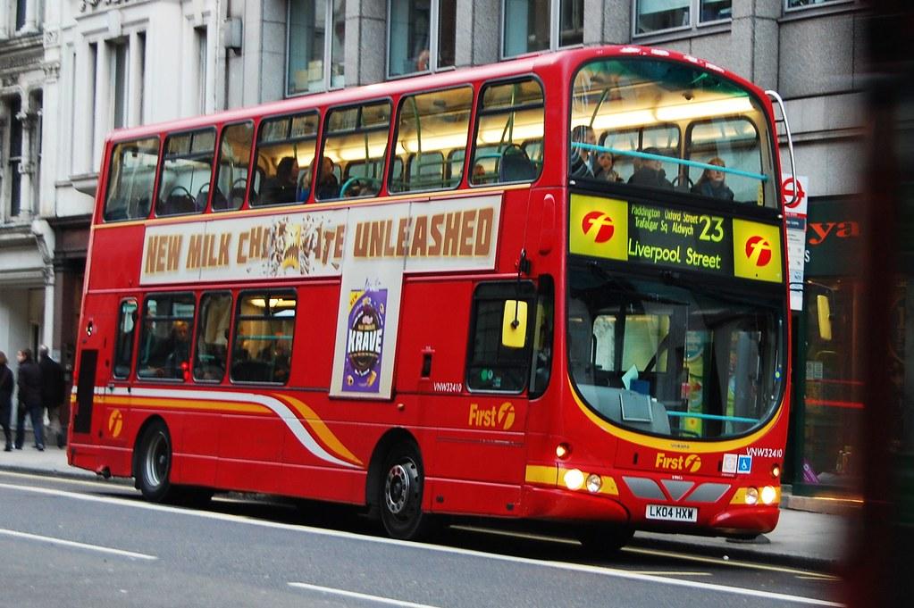First London Bus Route 23 Fleet Street Steve Poole