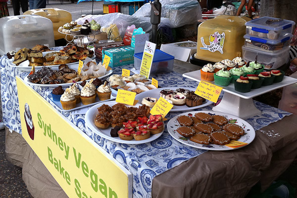 Cake Sale Vegan Noisette