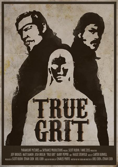 custom true grit movieposter flickr photo sharing