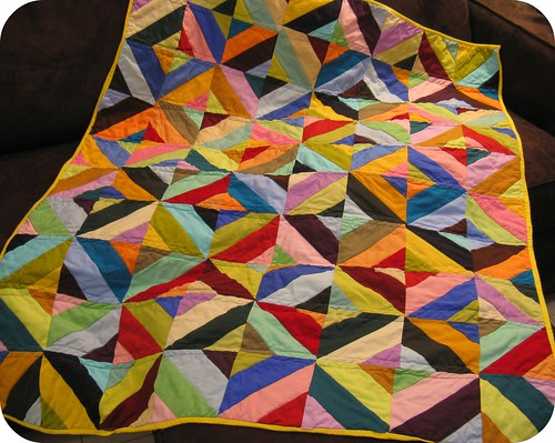 Wonky Solids Quilt | by LittleOliveBranch