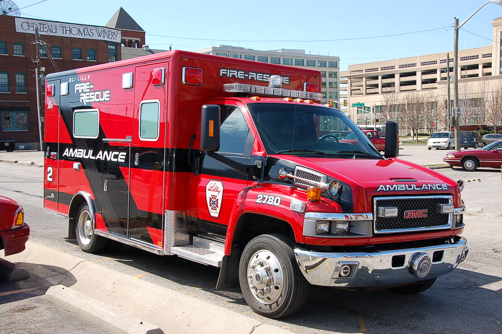 Eli Lilly Fire Rescue Ambulance 2 Indianapolis