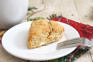 Maple Syrup Breakfast Scones with Cappuccino Glaze | by Tracey's Culinary Adventures