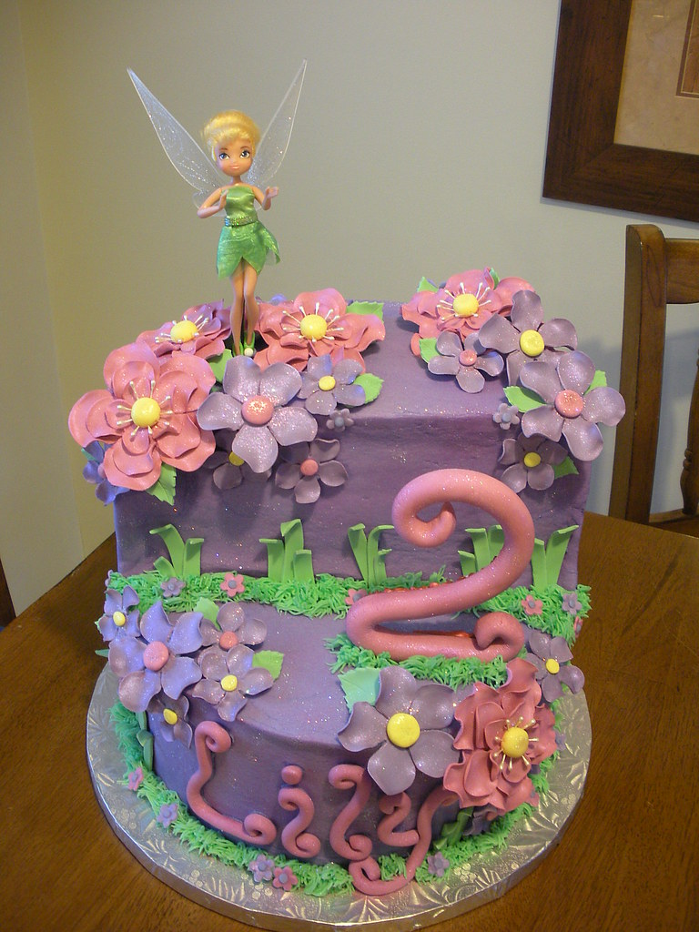 Tinkerbell Cake Jennifer Flickr