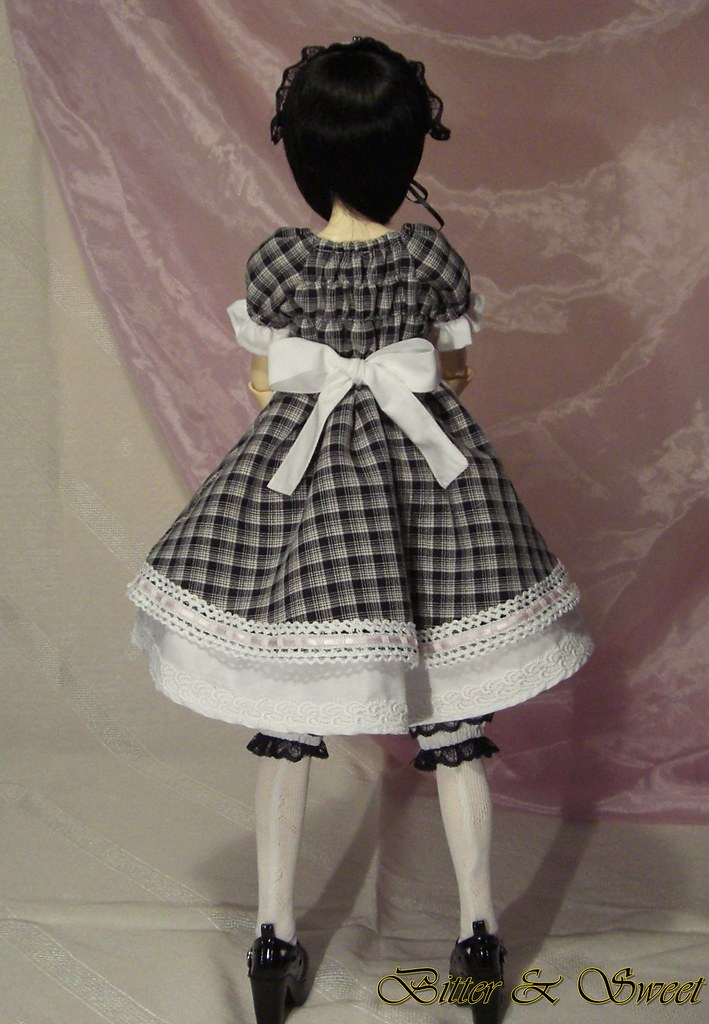 bjd dollfie [Bitter & Sweet] lolita maid style outfit (7) | Flickr
