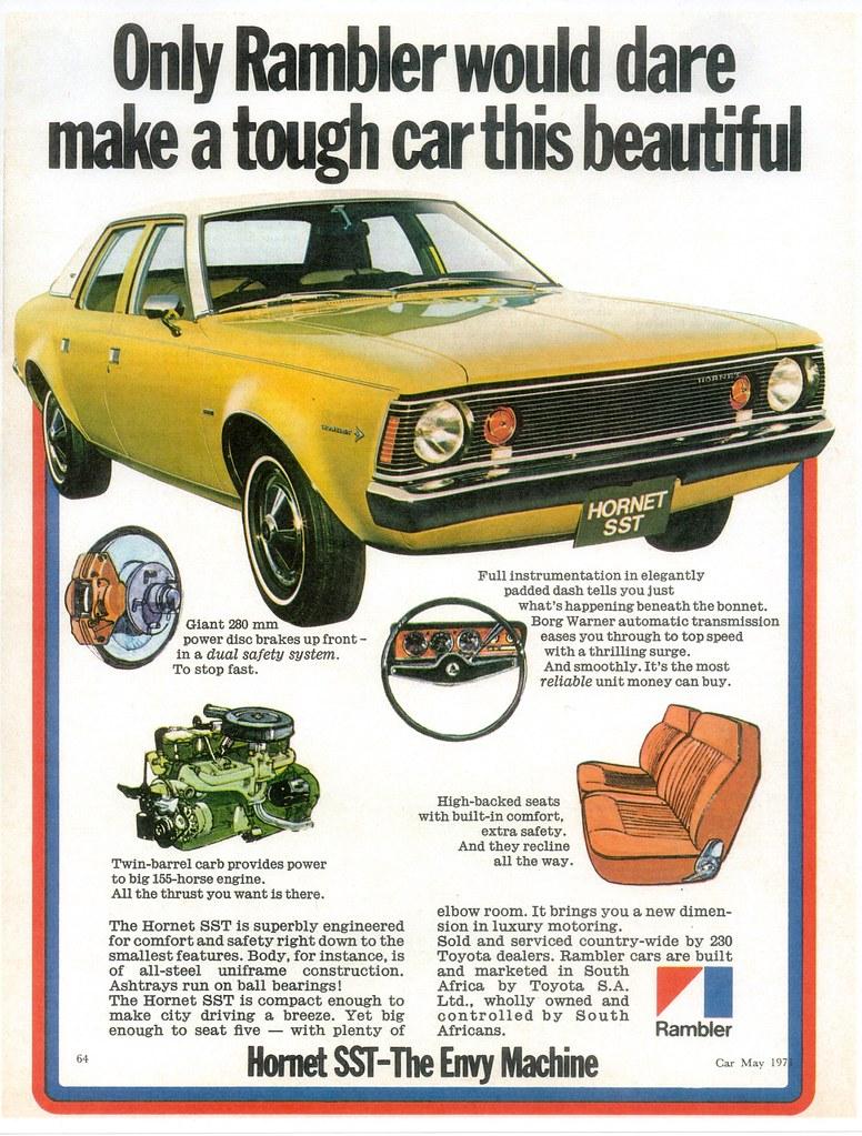 1971 Rambler Hornet Sst South Africa I Wonder How