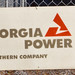Georgia Power Sign On Transformer Station