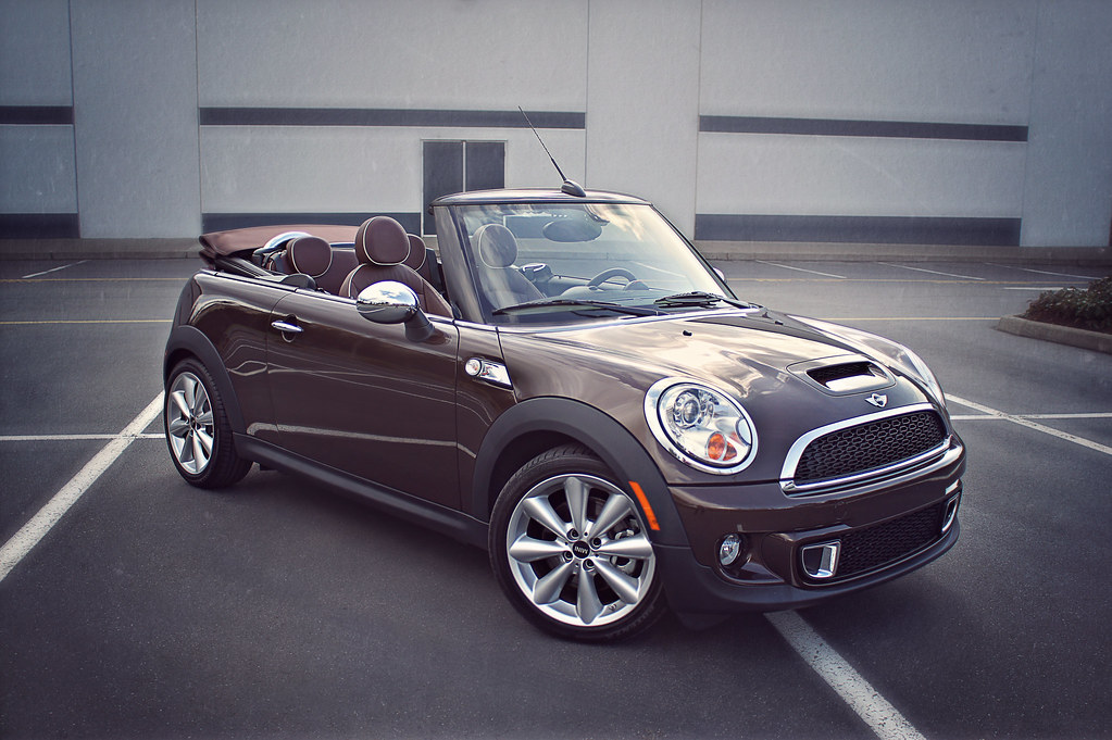 2011 Mini Cooper S Convertible Hot Chocolate Brown Flickr