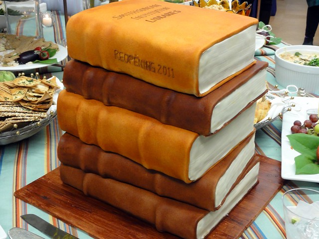 Library Book Cake Flickr Photo Sharing