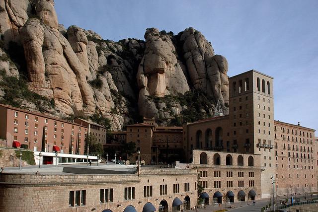 Monestir de Montserrat  Flickr - Photo Sharing!