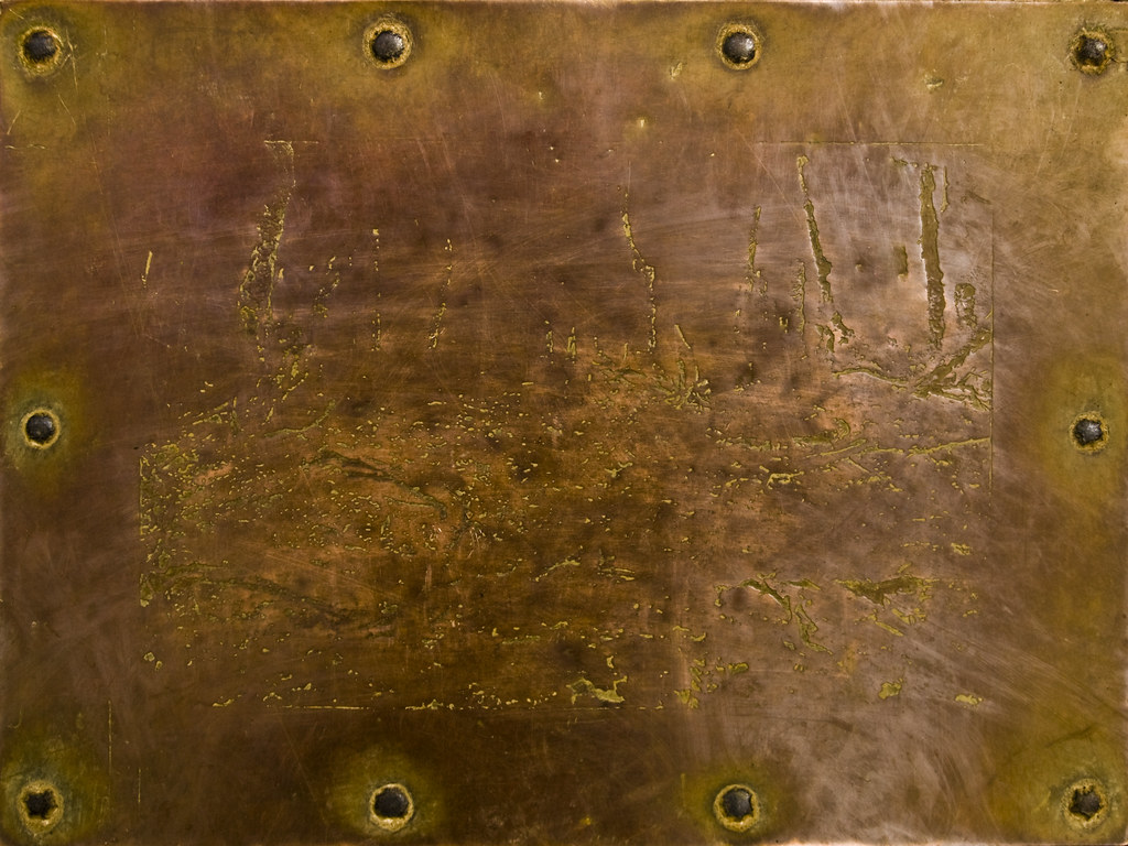 Bronze metal and rivets | Texture by Artifex Textures | Flickr