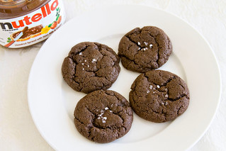 Nutella Cookies with Sea Salt - 5 | by Sugarcrafter
