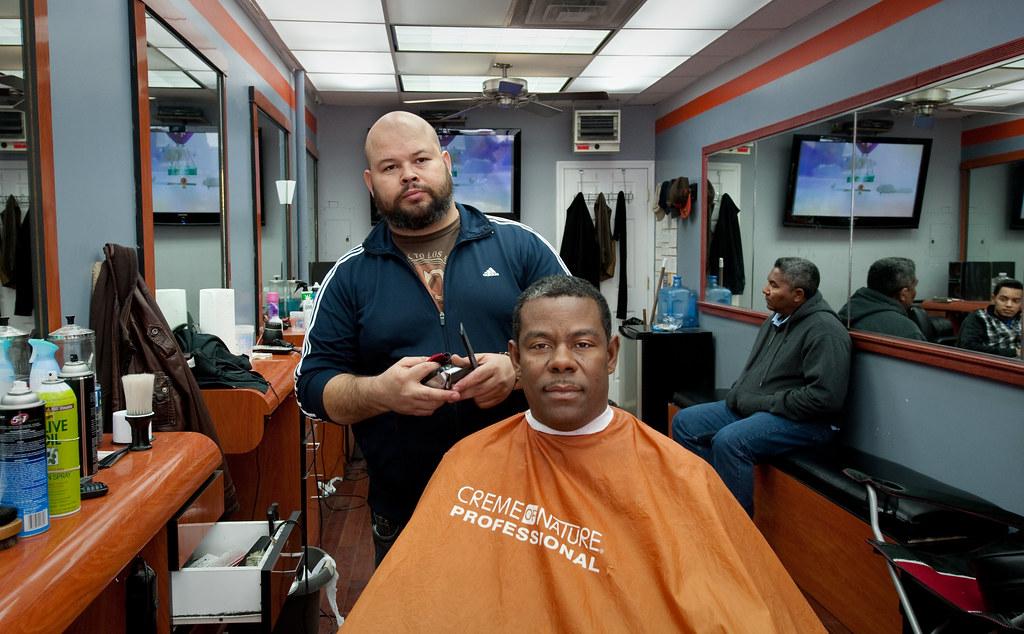 Barber Shop Brooklyn : Brooklyns Finest Barber Shop: Bushwick Brooklyn Chris Arnade ...