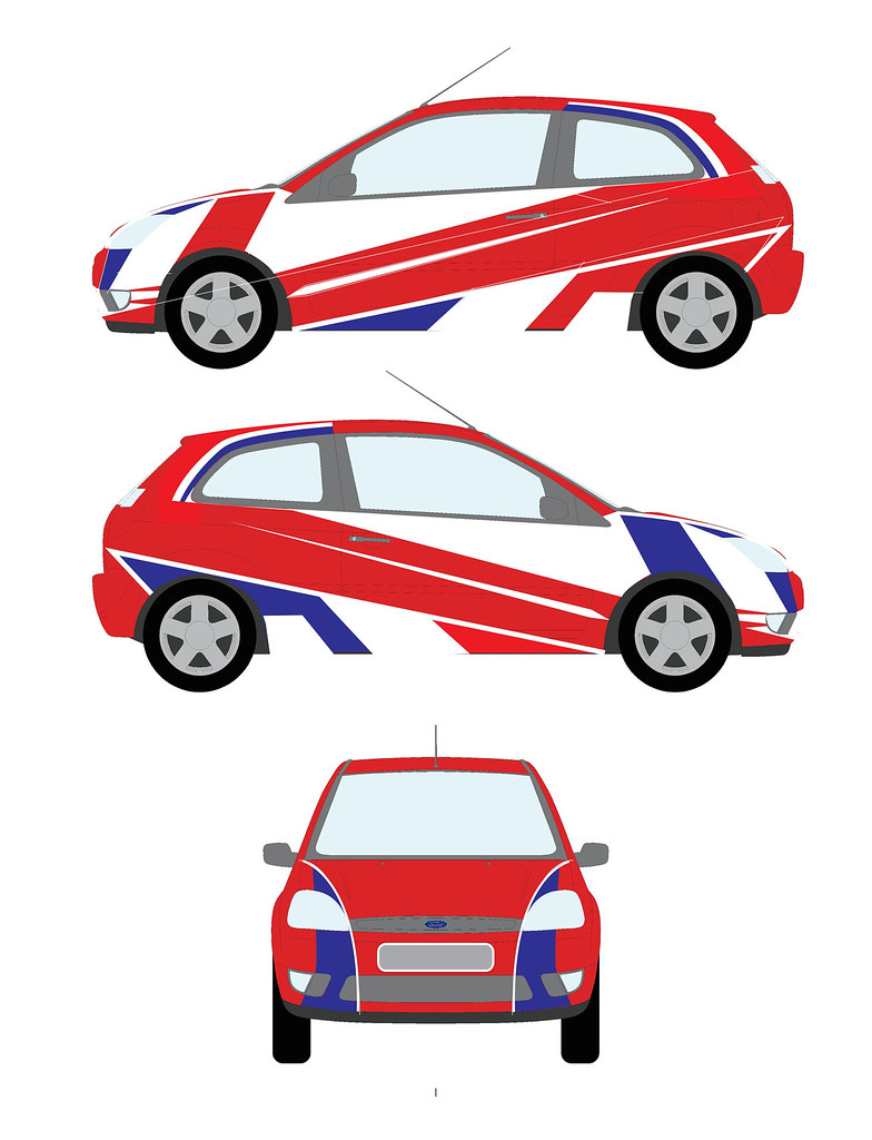 How to design car sticker - Sykespeed Rally Car Sticker Design Car Sticker Design By W
