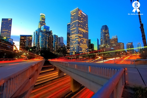 Los Angeles Skyline at Sunrise | by © In 2 Making Images | °L.A.