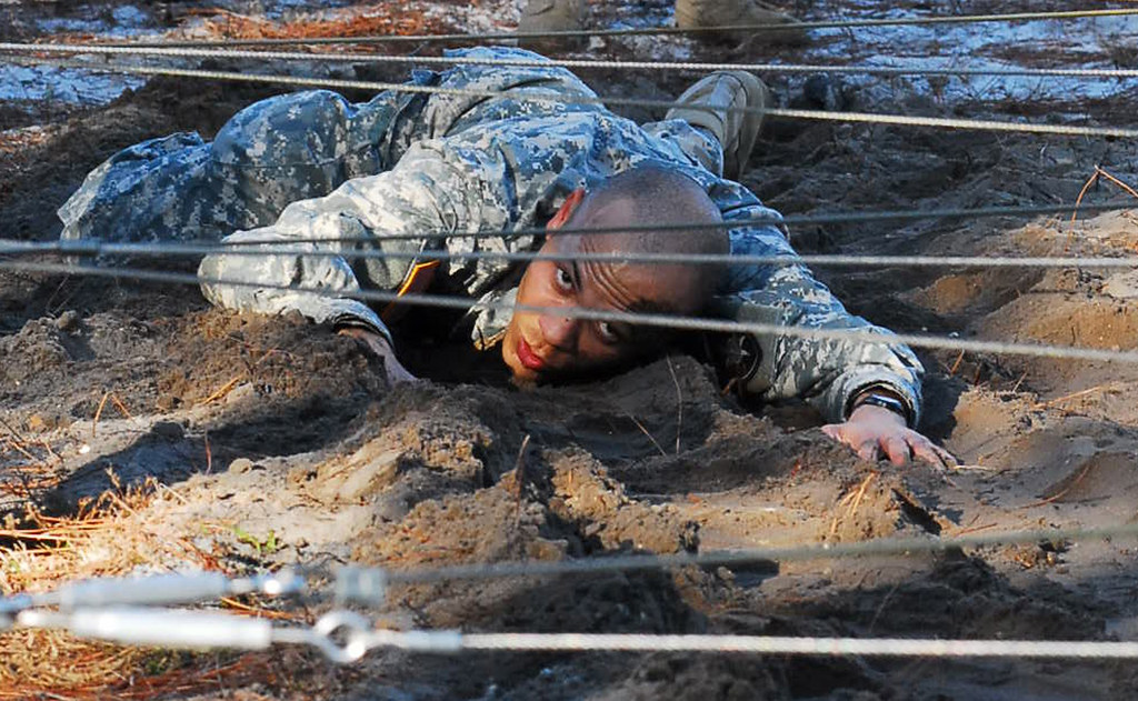 Florida Guardsmen Participate In Air Assault Course Image