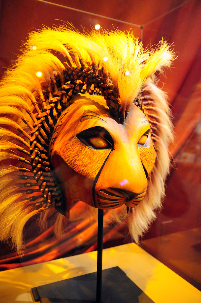 how to make lion king masks