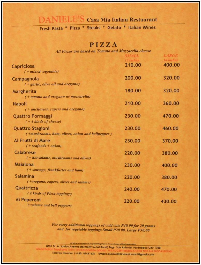 Italian Restaurant South Beach Espanola Way