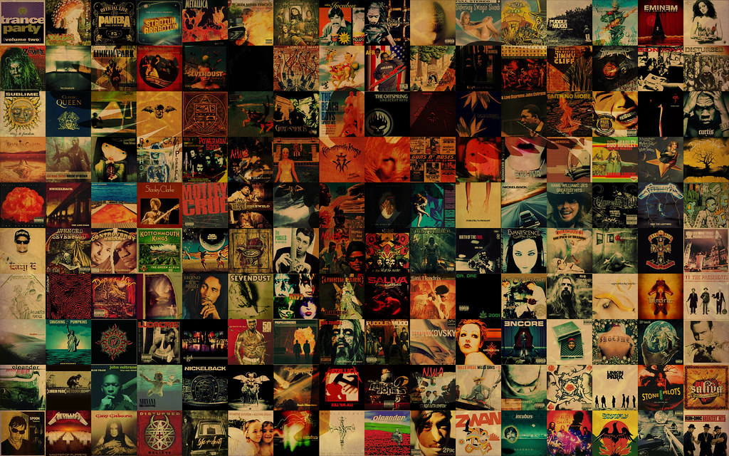 CD Album Covers Wallpaper_Angle