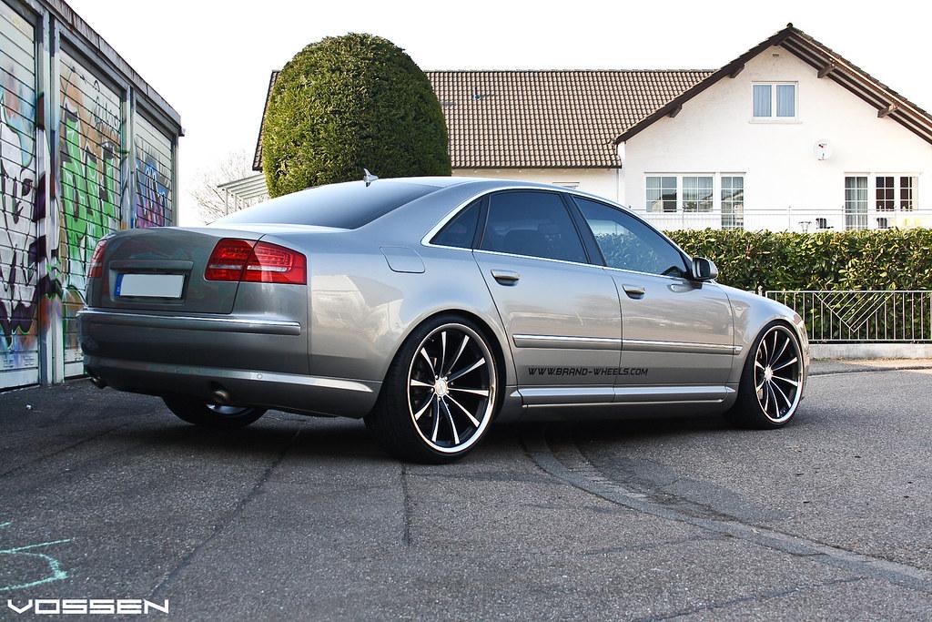 Audi A8 Vvscv1 Vvs Cv1 Matte Black F F 22x10 5