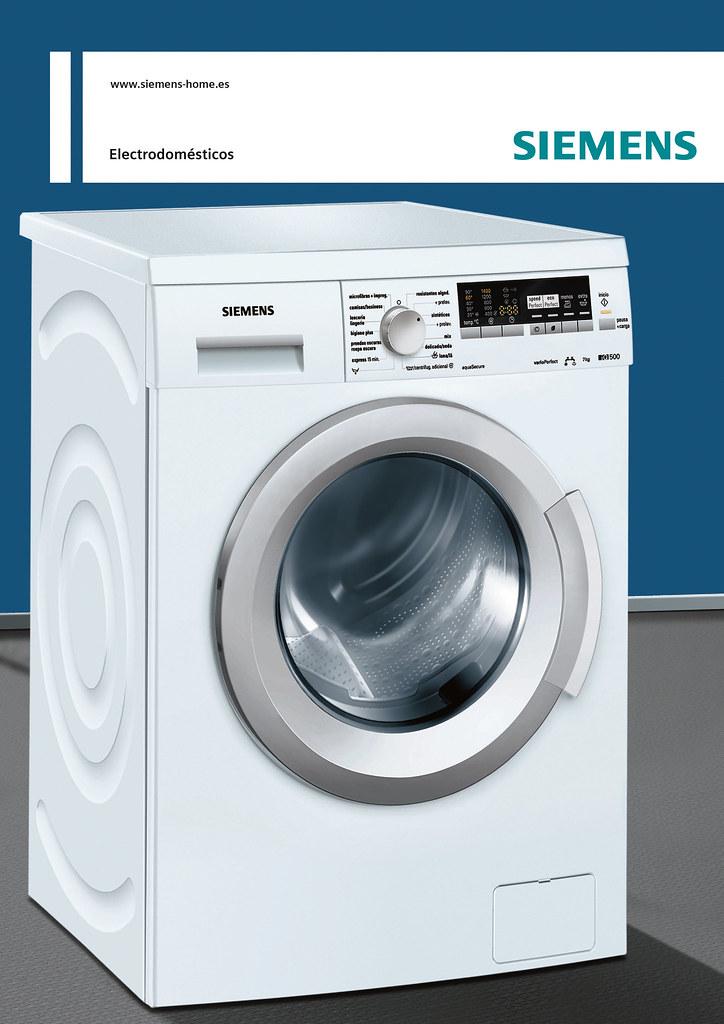 lavadora siemens iq500 7kg ver ficha producto ver ficha pr flickr. Black Bedroom Furniture Sets. Home Design Ideas