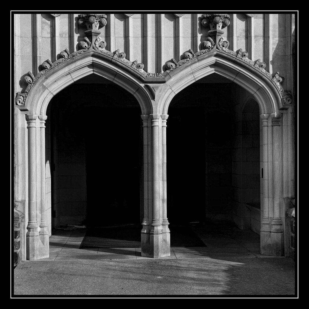 M m is for mercy this entrance to one of the for Architectural letter photos
