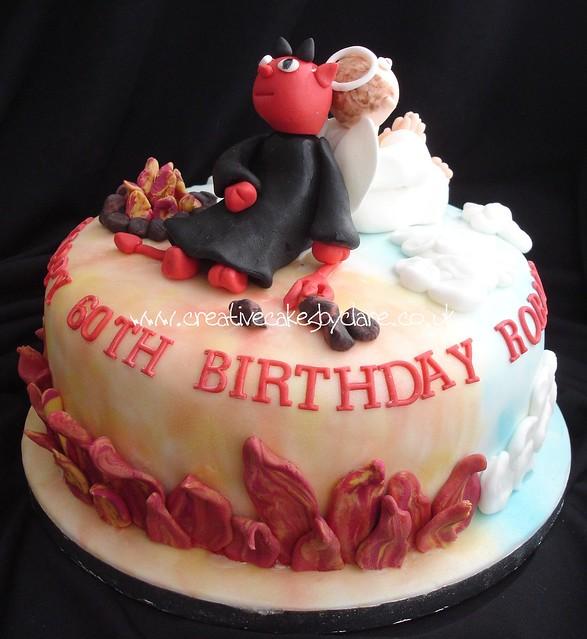 Devil S Food Cake And Angels Food Cake