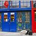 Red Door - Blue Door - Mars Gallery