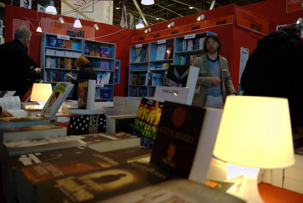 salon du livre de paris 2011 stand du cherche midi flickr. Black Bedroom Furniture Sets. Home Design Ideas