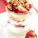 Strawberry Toasted Oat Yogurt Parfait