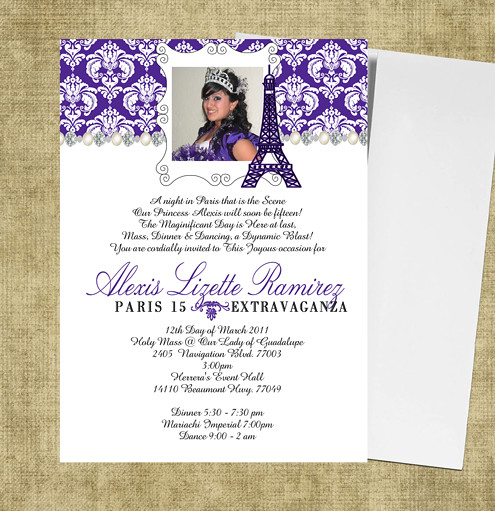 Spanish Wording For Quinceanera Invitations for great invitation design