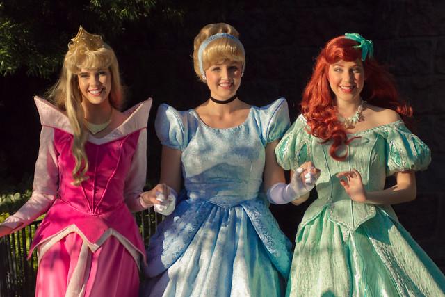 Disneyland Aurora Cinderella Ariel Flickr Photo