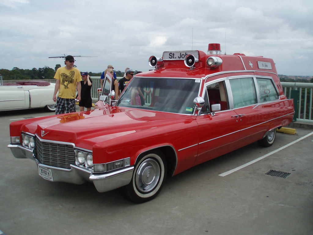 1969 Cadillac Superior Rescuer High Top Ambulance 1969