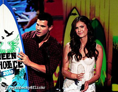 taylor lautner&nin... Taylor Lautner