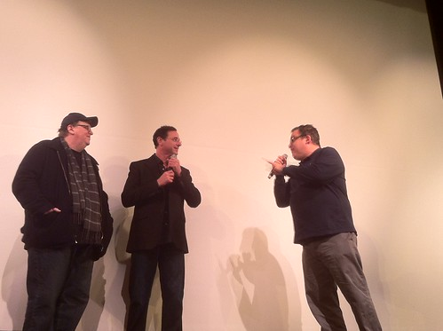 Michael Moore, Bob Saget and Jeff Garlin | by farlane