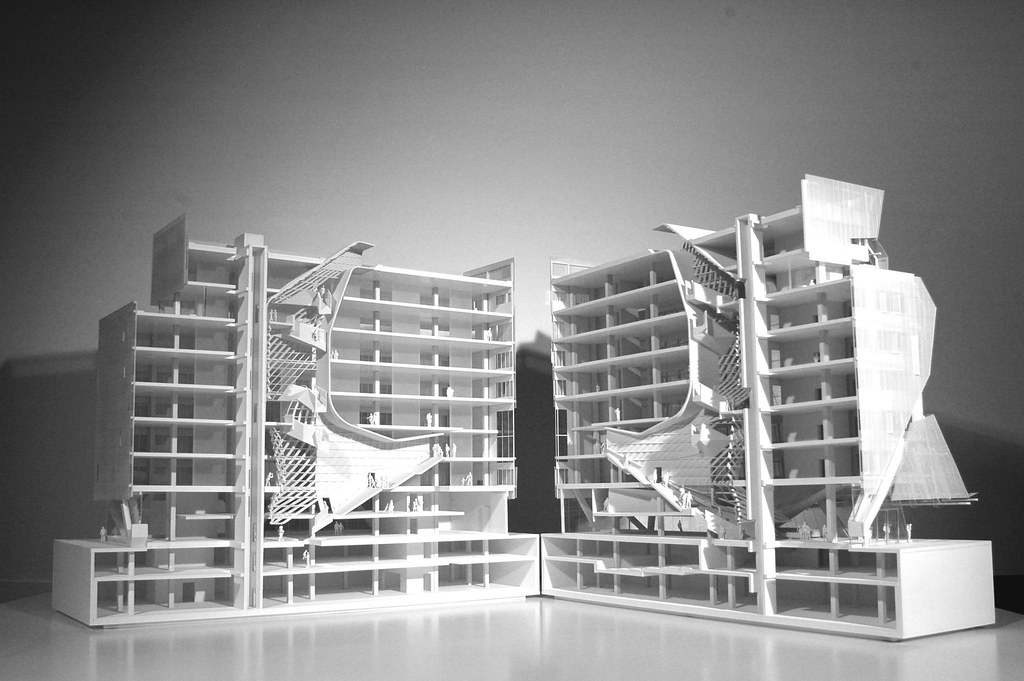 3d printed model of 41 cooper square building 3d printed for 3d printed house model