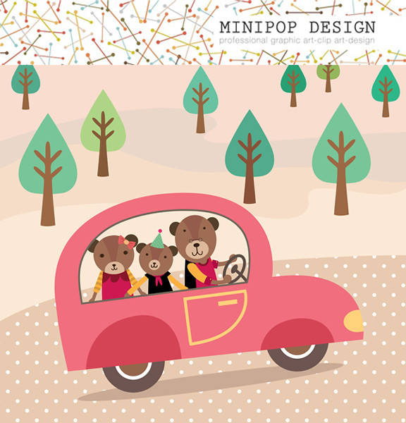 free clip art bear family - photo #48