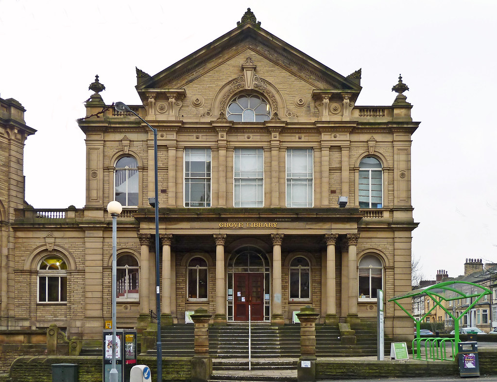 Grove library great horton road bradford formerly the Library garden grove