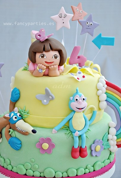 Dora, Boots and Swiper Cake 11 | Birthday Cake for the ...