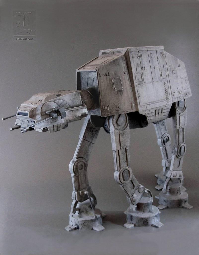 Star Wars - The Empire Strikes Back AT-AT model kit by Rev… | Flickr